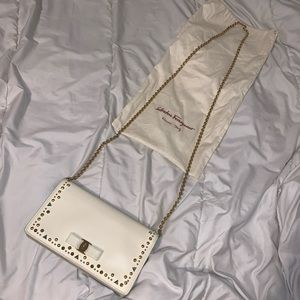 Salvatore Ferragamo clutch bag
